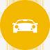 ícone de locação de autos